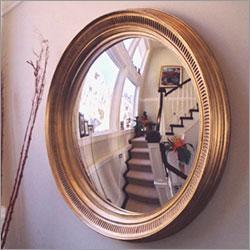 Convex Wall Mirror gold leaf convex wall mirror settwo's company - organize