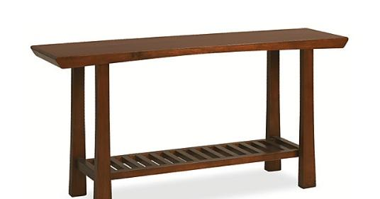 Room Board Shinto Console Table Look Less - Room and board console table