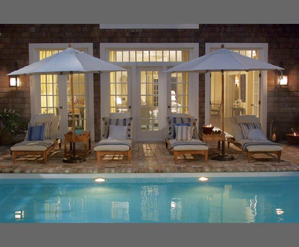 Somethingu0027s Got To Give Set Gorgeous Pool, French Doors, Patio Furniture
