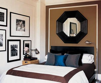 Bedroom Accent Wall Contemporary Bedroom Ron Marvin