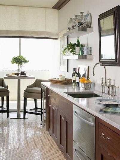 Cherry Kitchen Cabinets Contemporary Kitchen Farrow