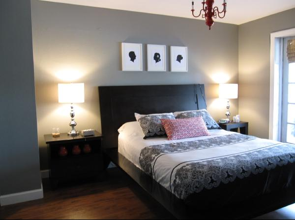 Painted Bedrooms. Gray Paint Colors  Contemporary bedroom Ralph Lauren Boulder