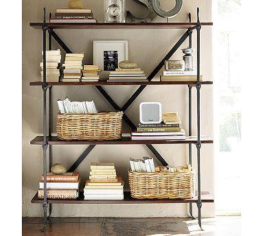 Benchwright Bookcase Pottery Barn