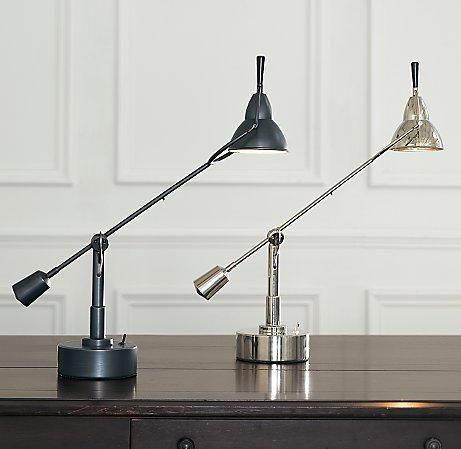 Counterpoise single arm task table lamps mozeypictures Images