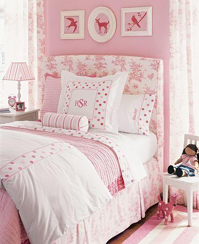 Little Girlu0027s Pink Room