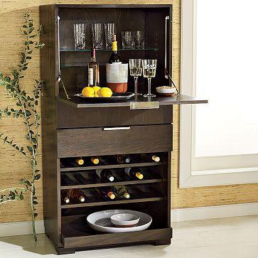 Everywhere Storage Bar Wine Storage West Elm