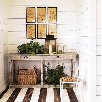 Gray Console Table, Country, entrance/foyer