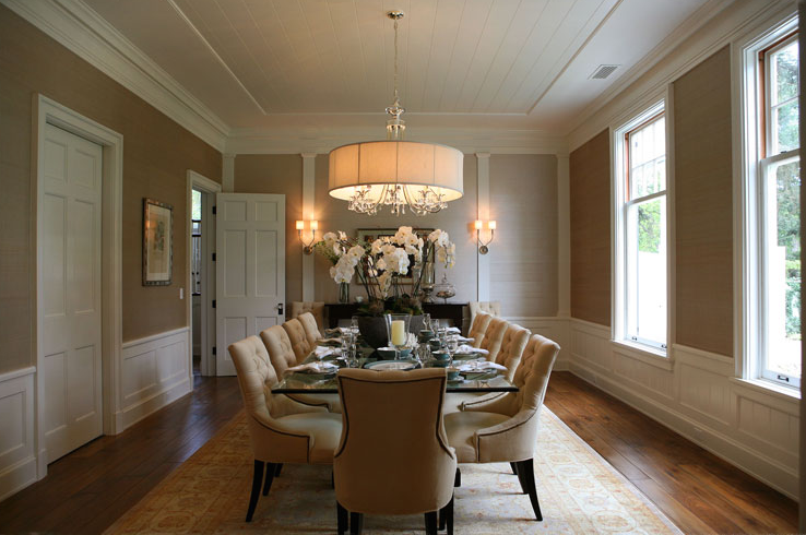 Dining Room Wainscoting