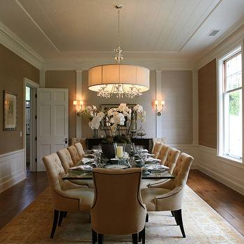 Dining Room Wainscoting, Transitional, dining room, Giannetti Home