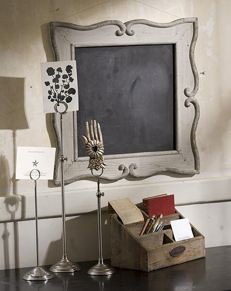 Mothology - The Science of Style - Framed Chalk Board