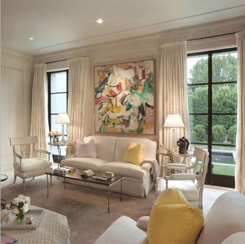 Living room for Monochromatic living room ideas