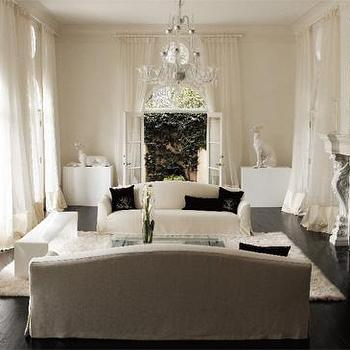 View Full Size. Chic French Living Room ...