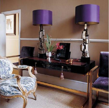 Superior Purple Lamp Shades