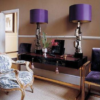 Purple lamp shades design ideas purple lamp shades mozeypictures Images