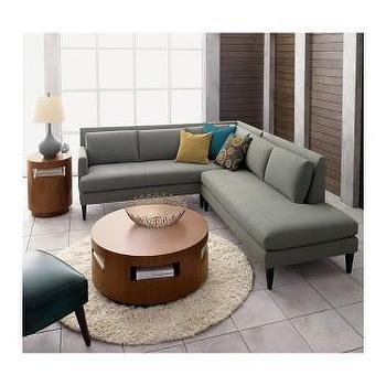 Crate and Barrel, Sidecar Sectional shopping in Crate and Barrel Sofas