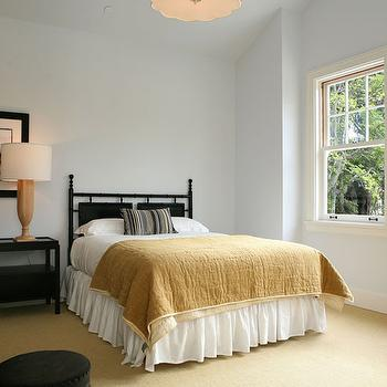 Bedroom with 1 Nightstand, Transitional, bedroom, Giannetti Home