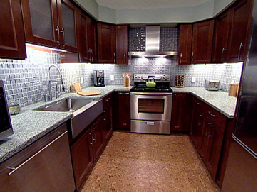 Kitchen Backsplash Cherry Cabinets White Counter cherry cabinets design ideas