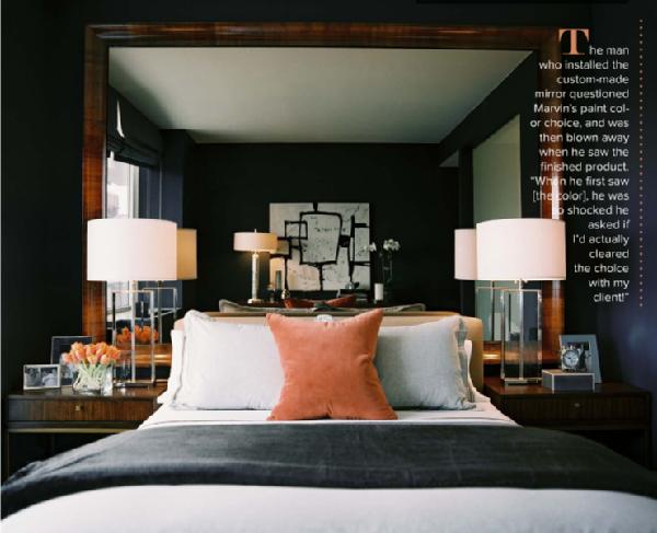 Bedroom for Dark bedroom walls