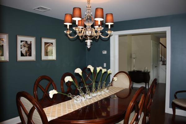 dining room benjamin moore yorktowne green. Black Bedroom Furniture Sets. Home Design Ideas