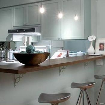 Candice Olson Kitchen, Contemporary, kitchen, Benjamin Moore Gray Wisp, Candice Olson