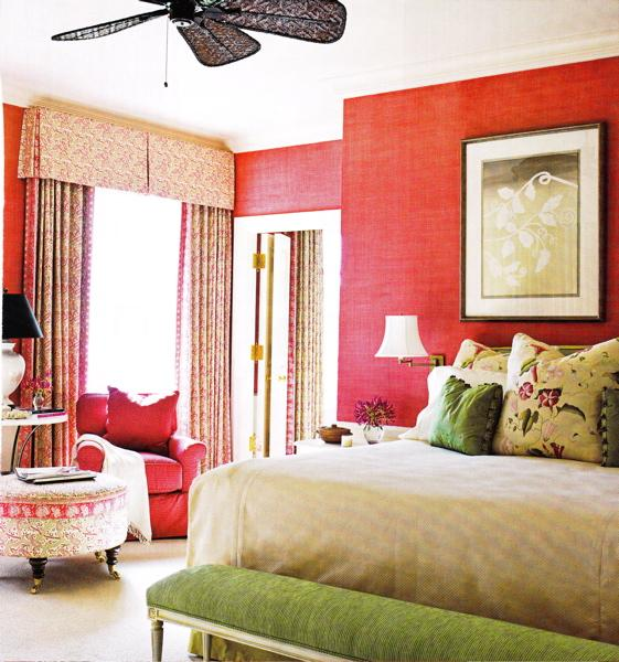 Rooms With Grasscloth Wallpaper: Pink Grasscloth Design Ideas