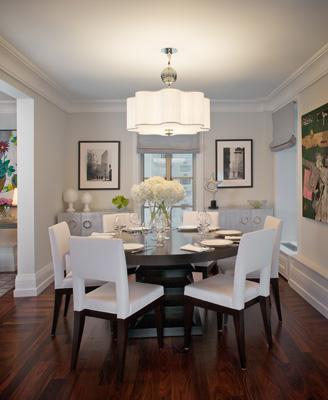 White dining room quatrefoil pendant light - White lights for room ...