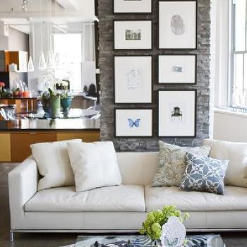 Contemporary White Sofas, Contemporary, living room, Fifth Season Design