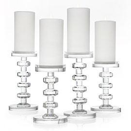 cristallo pillar crystal candle holders With what kind of paint to use on kitchen cabinets for crystal globe candle holder