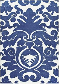 Santego Bay Blue Indoor Outdoor Area Rug