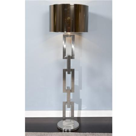 Heavy Metal Linked Floor Lamp
