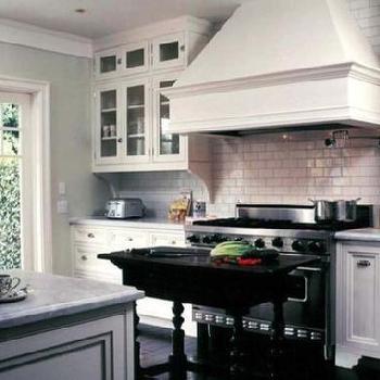 Sage green kitchen cabinets design ideas for Brushed sage kitchen cabinets