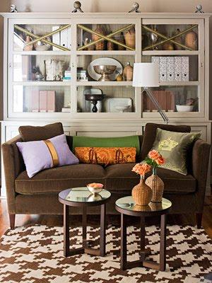 Chocolate Brown Sofa Design Ideas