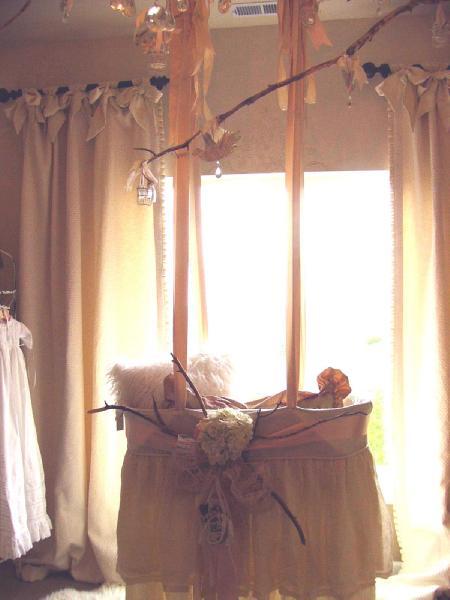 Nusrery Window Treatments Eclectic Nursery