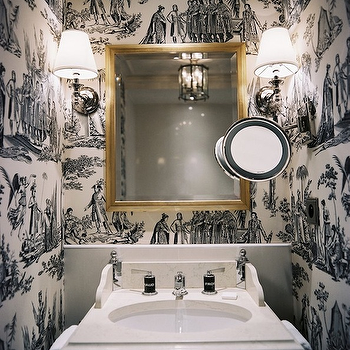 'Black and White Toile Wallpaper' from the web at 'https://cdn.decorpad.com/photos/2009/12/14/m_f4fc1bd934ea.png'