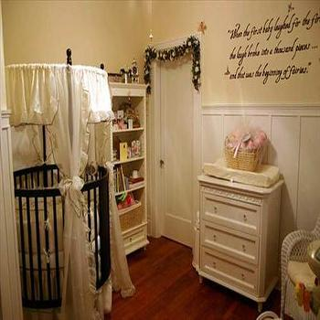 Round Crib, Traditional, nursery, HGTV