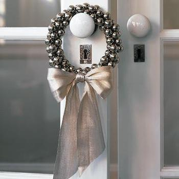 Jingle Bell Wreaths, Holiday Wreaths, Christmas Workshop, MarthaStewart.com