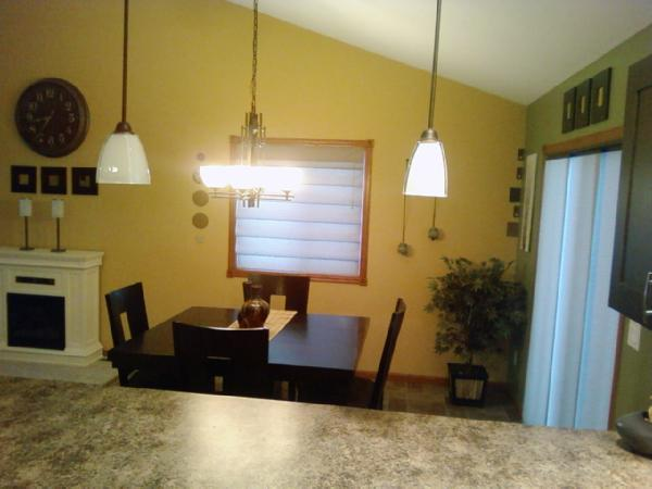 View Post - Modern Kitchen/Living Room Area - Paint Advice