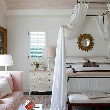 Girl's Canopy Bed, Transitional, girl's room, Gary McBournie