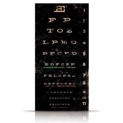 Eye Chart Is Modern Art With A Hidden Message Z Gallerie
