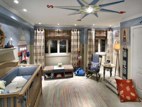 baby boy nursery design ideas. Black Bedroom Furniture Sets. Home Design Ideas