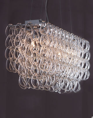 Horchow glass link chandelier l4l horchow rectangular chandelier view full size mozeypictures Choice Image