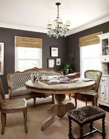 French country dining room cottage dining room annie for French country wall paint colors