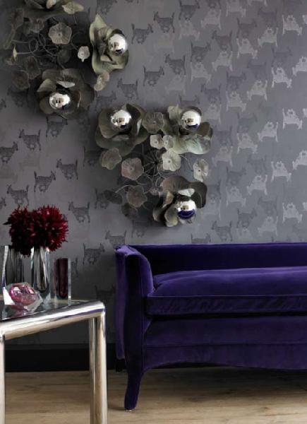 Gray Velvet Sofa Design Ideas
