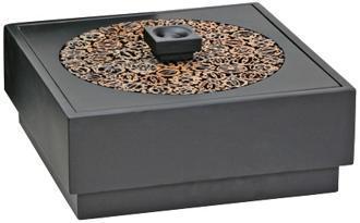 Black Gold Medallion Ming Boxes