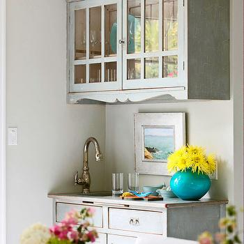 Conservative Gray, Transitional, kitchen, Sherwin Williams Conservative Gray, Molly Frey Design