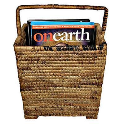 Baskets, African Baskets, Pisang Magazine Rack, bluedango