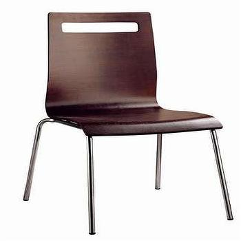 Composition Dining Chair in Wenge