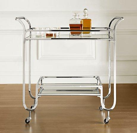 Duncan Bar Cart Resoration Hardware