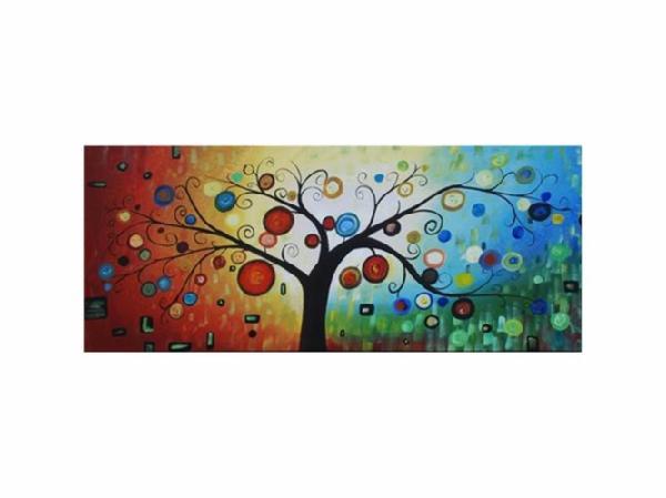 fantastical forest handpainted canvas art abstract modern canvas wall art - Canvas Wall Decor