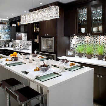 Two Tone Cabinets, Contemporary, kitchen, Brandon Barre Photography